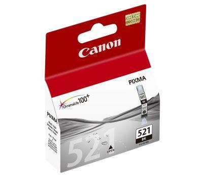 Rašalinė kasetė Canon CLI-521BK juoda