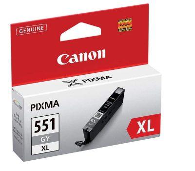 Rašalinė kasetė Canon CLI-551GYXL pilka