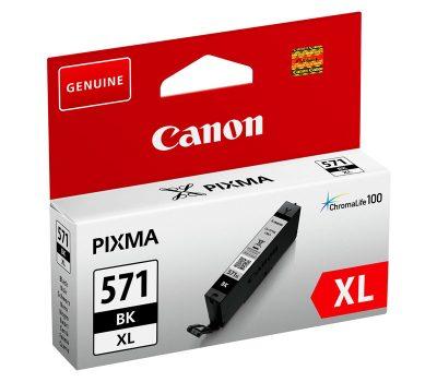 Rašalinė kasetė Canon CLI-571BKXL juoda