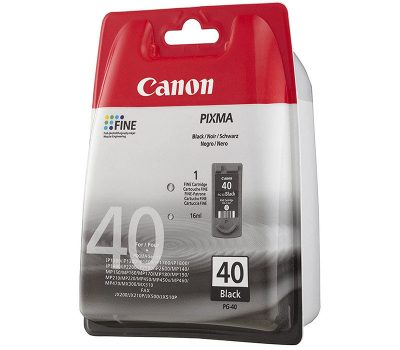 Rašalinė kasetė Canon PG-40 juoda