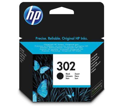 Rašalinė kasetė HP 302 juoda
