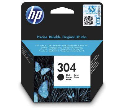 Rašalinė kasetė HP 304 juoda