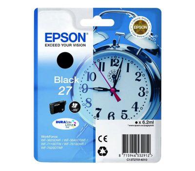 Rašalinė kasetė Epson 27 juoda