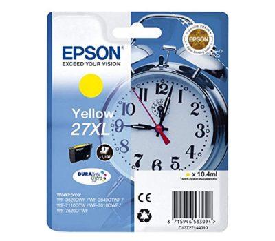 Rašalinė kasetė Epson 27XL geltona