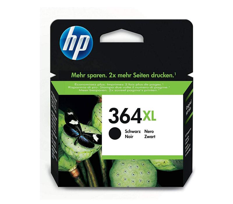Rašalinė kasetė HP 364XL juoda