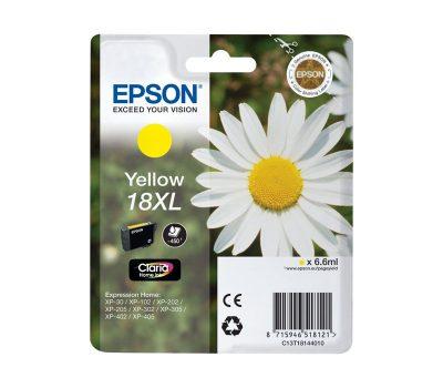 Rašalinė kasetė Epson 18XL geltona