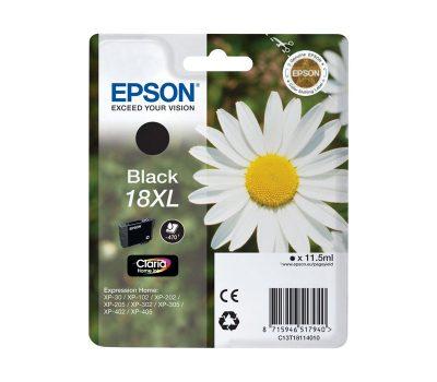 Rašalinė kasetė Epson 18XL juoda