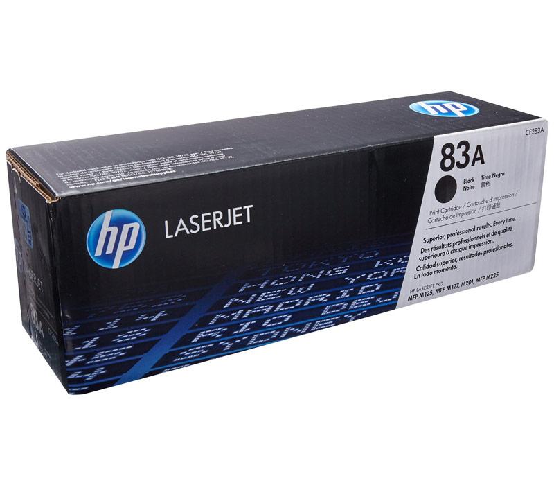 Lazerinė kasetė HP CF283A juoda