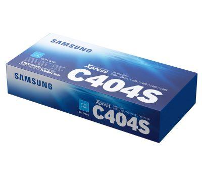 Lazerinė kasetė Samsung CLT-C404S mėlyna