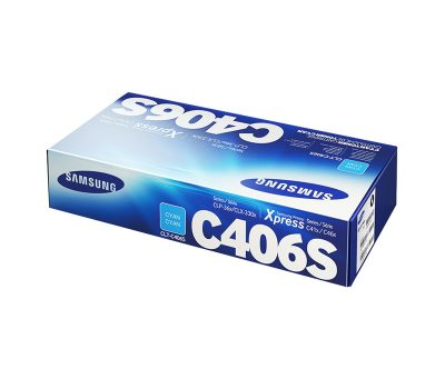 Lazerinė kasetė Samsung CLT-C406S mėlyna