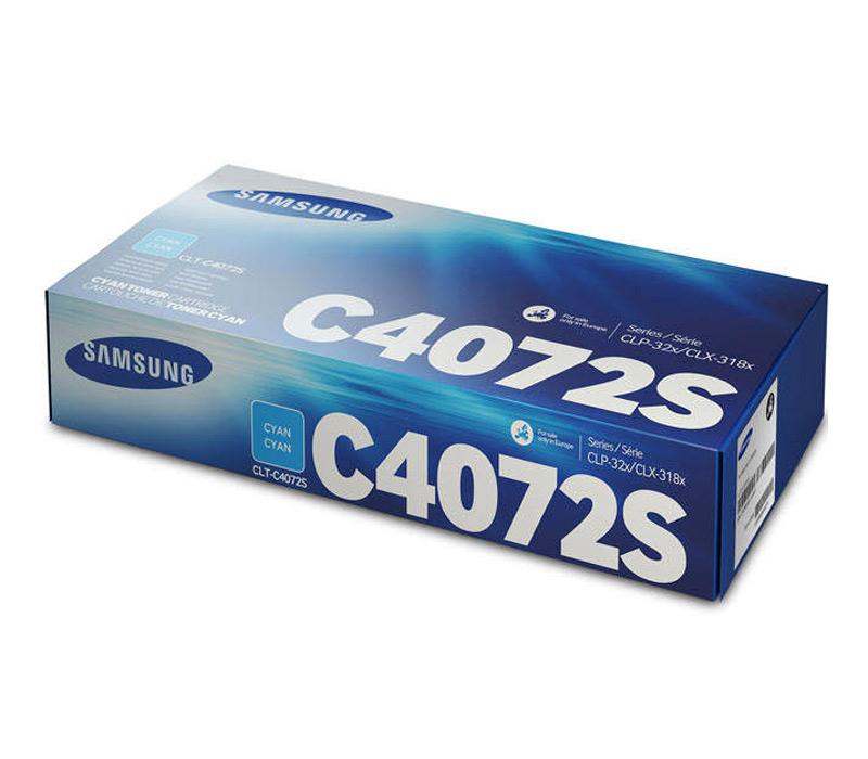Lazerinė kasetė Samsung CLT-C4072S mėlyna