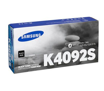 Lazerinė kasetė Samsung CLT-K4092S juoda
