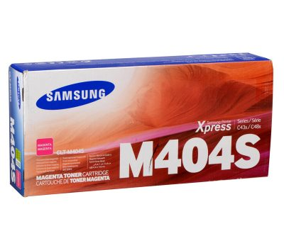 Lazerinė kasetė Samsung CLT-M404S raudona