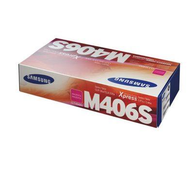 Lazerinė kasetė Samsung CLT-M406S raudona