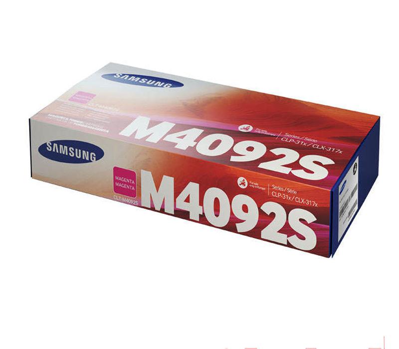 Lazerinė kasetė Samsung CLT-M4092S raudona