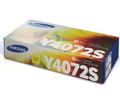 Lazerinė kasetė Samsung CLT-Y4072S geltona
