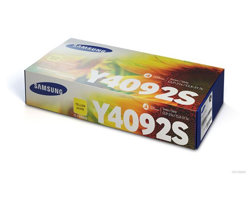 Lazerinė kasetė Samsung CLT-Y4092S geltona