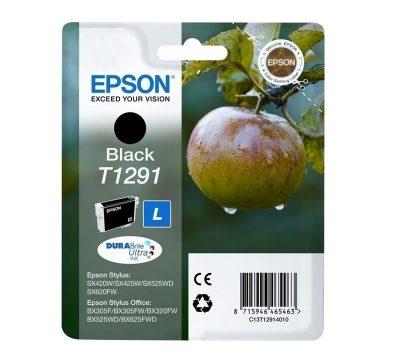 Rašalinė kasetė Epson T1291 juoda