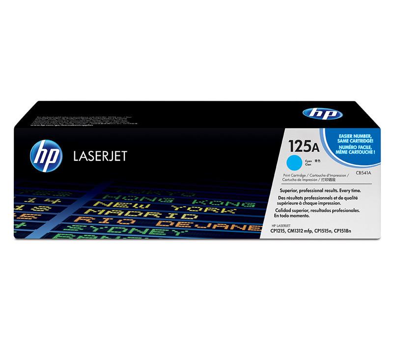 Lazerinė kasetė HP CB541A mėlyna