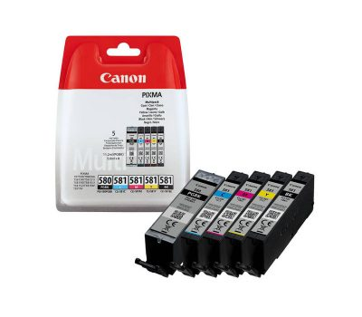Canon kasečių rinkinys PGI-580PGBK/CLI-581