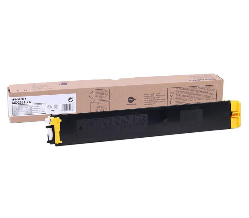 Lazerinė kasetė SHARP MX23GTYA geltona