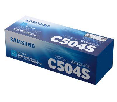Lazerinė kasetė Samsung CLT-C504S mėlyna