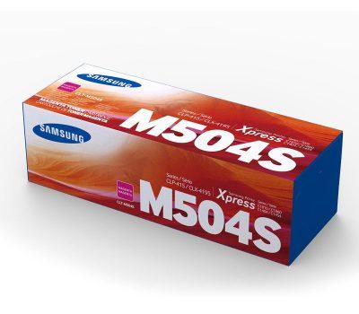 Lazerinė kasetė Samsung CLT-M504S raudona