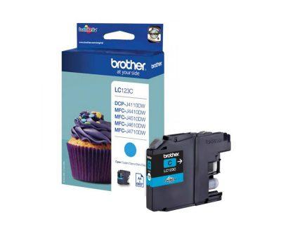 Rašalinė kasetė Brother LC123C mėlyna