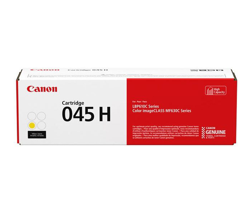 Lazerinė kasetė Canon 045H geltona