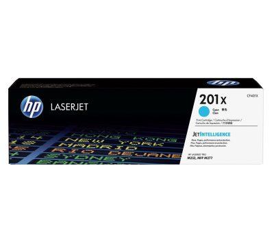 Lazerinė kasetė HP 201X C mėlyna