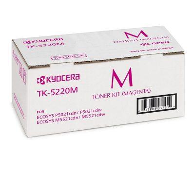 Lazerinė kasetė Kyocera TK-5220M raudona