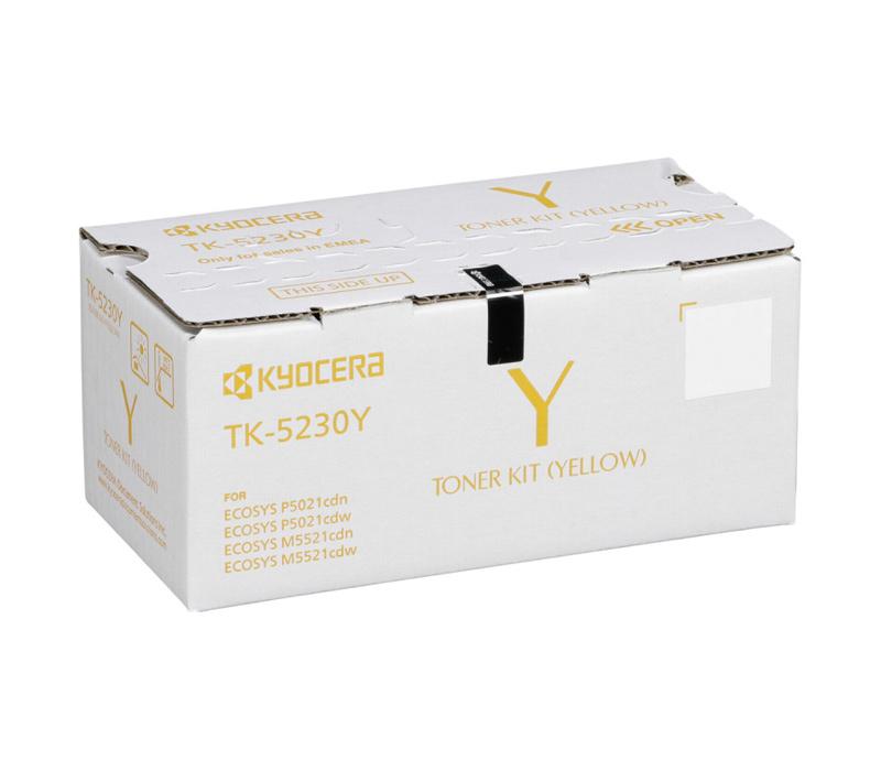 Lazerinė kasetė Kyocera TK-5230Y geltona