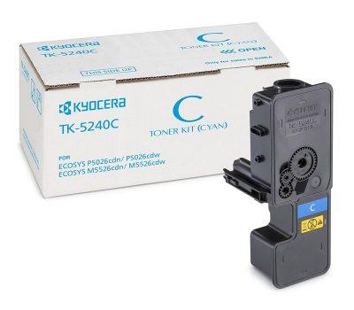 Lazerinė kasetė Kyocera TK-5240C mėlyna