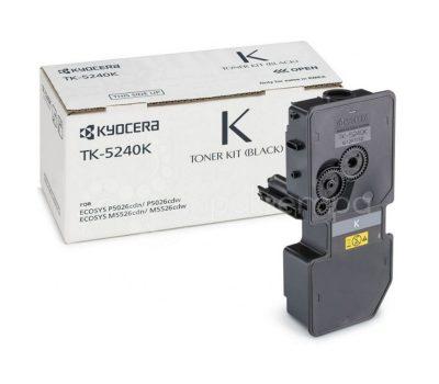 Lazerinė kasetė Kyocera TK-5240K juoda