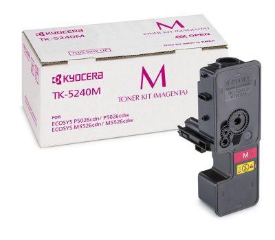 Lazerinė kasetė Kyocera TK-5240M raudona