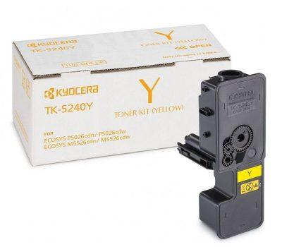 Lazerinė kasetė Kyocera TK-5240Y geltona