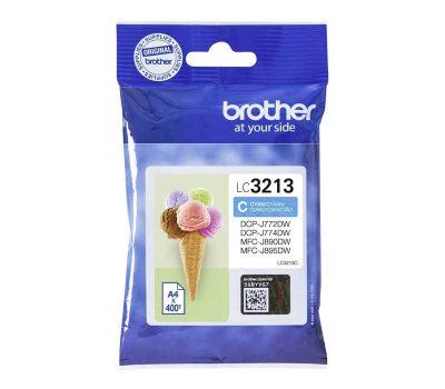 Rašalinė kasetė Brother LC3213C mėlyna