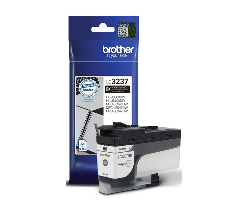 Rašalinė kasetė Brother LC3237BK juoda