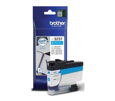 Rašalinė kasetė Brother LC3237C mėlyna