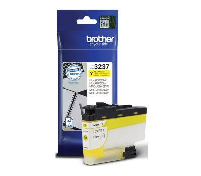 Rašalinė kasetė Brother LC3237Y geltona