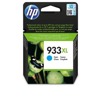 Rašalinė kasetė HP 933XLC mėlyna